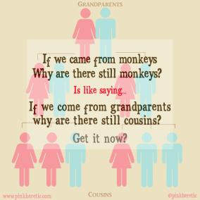 If we came from monkeys why are there still monkeys?