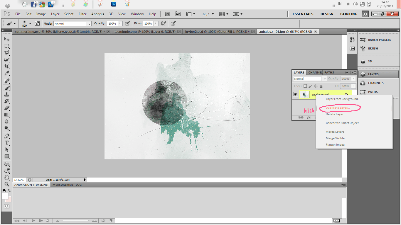 Tutorial How To Use Texture