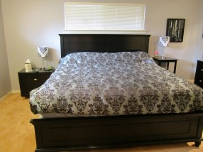 new bed frame & mattress
