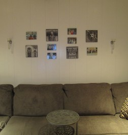 Family Room Wall Photos