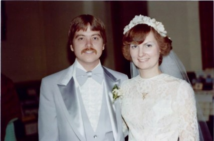 My parents wedding day in 1978