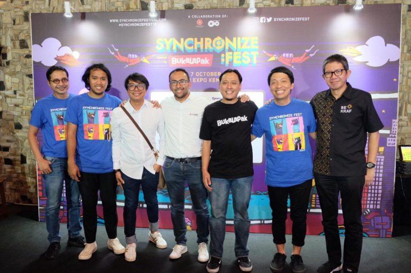 Reuni dan Kolaborasi, Semua Ada di SynchFest 2018