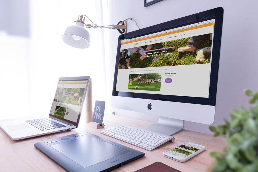 Diseño web - bosqueternura.com