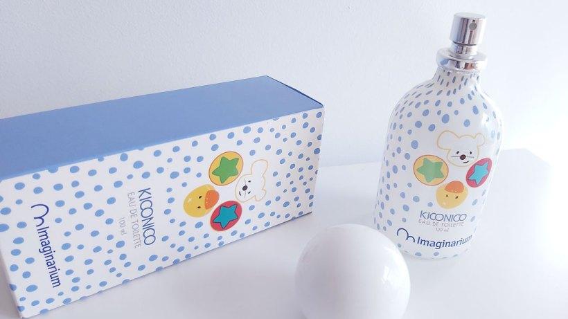 Packaging Eau de Toilette Kiconico Imaginarium