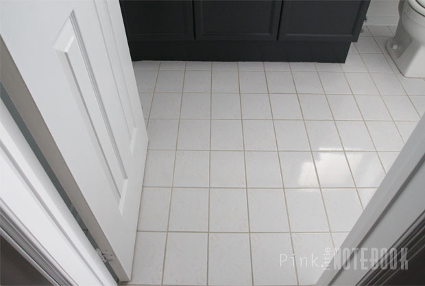 how to freshen up your grout lines for