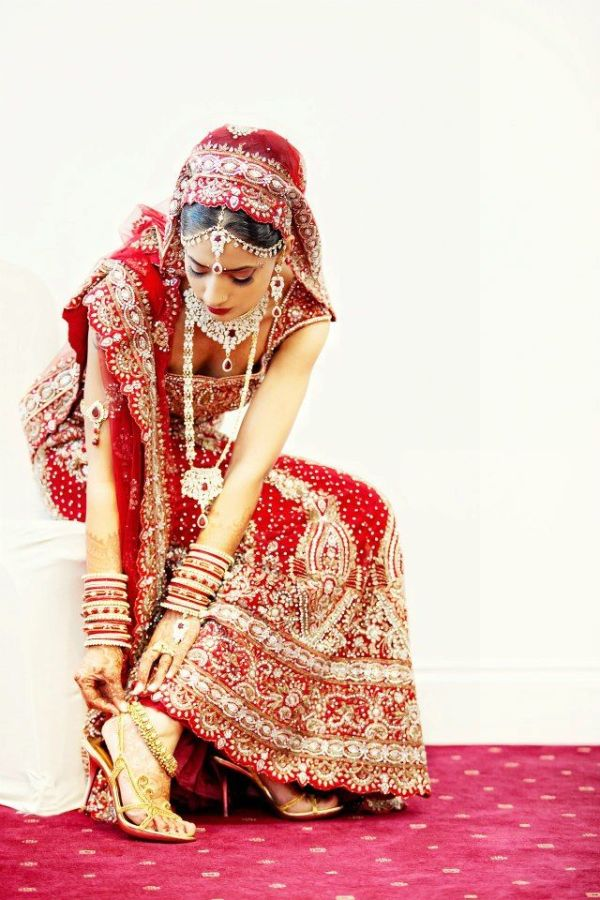 red lengha PINK LOTUS EVENTS