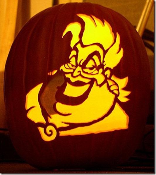 Lil Mermaid Pumpkin Carving Ideas