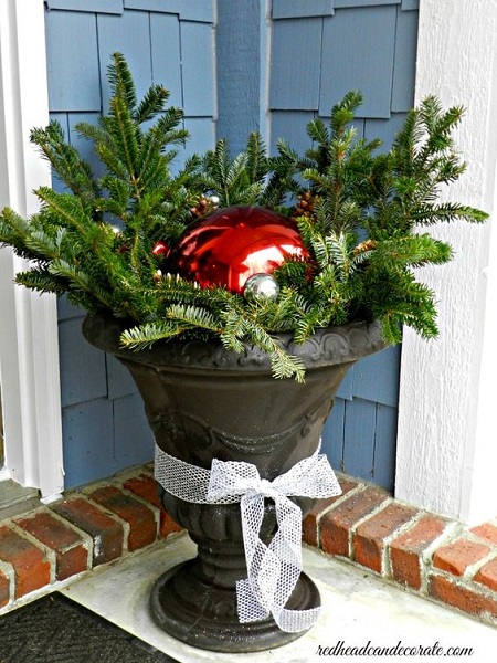 Outdoor Home Christmas Decorating Ideas