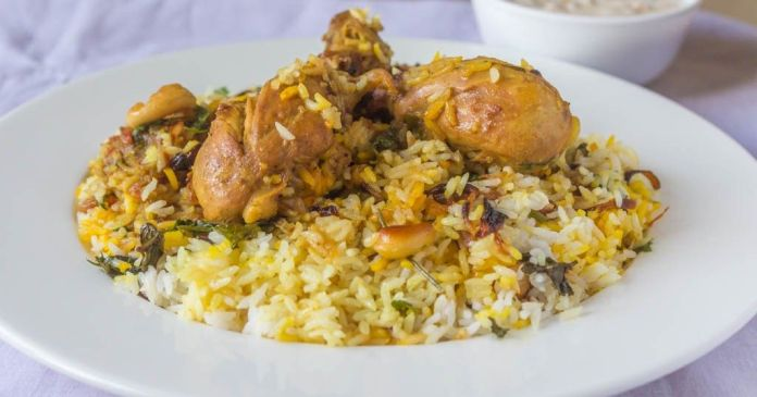 Kerala Cuisine: Thalassery Chicken Biryani from the Malabar region of Kerala
