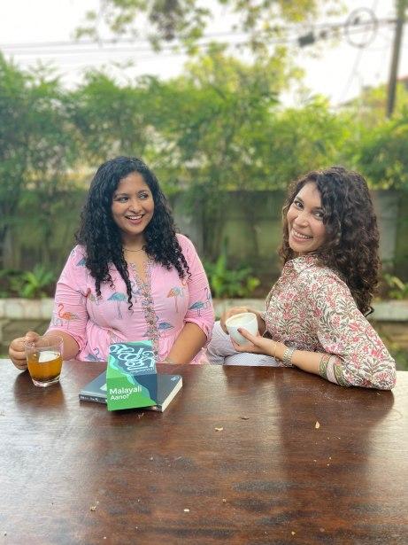 Sona & Rose, co-founders of Malayali Aano