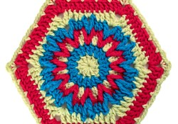 Dorothy Crochet Hexagon Motif