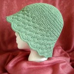 Flared Shell Brimmed Hat