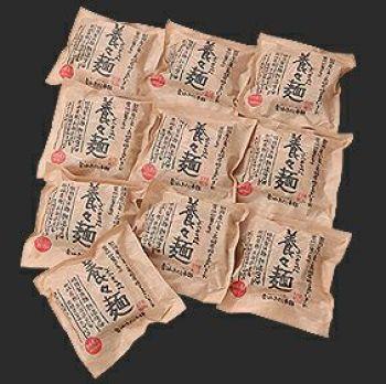 『雲仙きのこ本舗が作った養々麺』のパッケージ画像