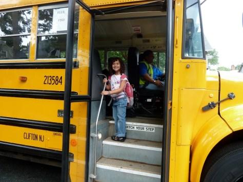 Sophie's First Bus Ride to Kindergarten