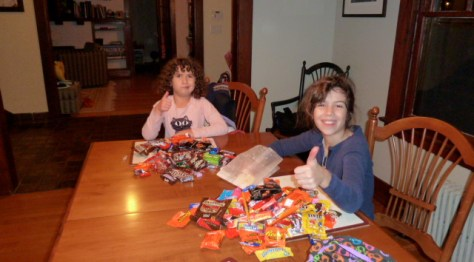 Almost five pounds of candy