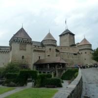 Mom, Chateau de Chillon and Evian-les-Bains