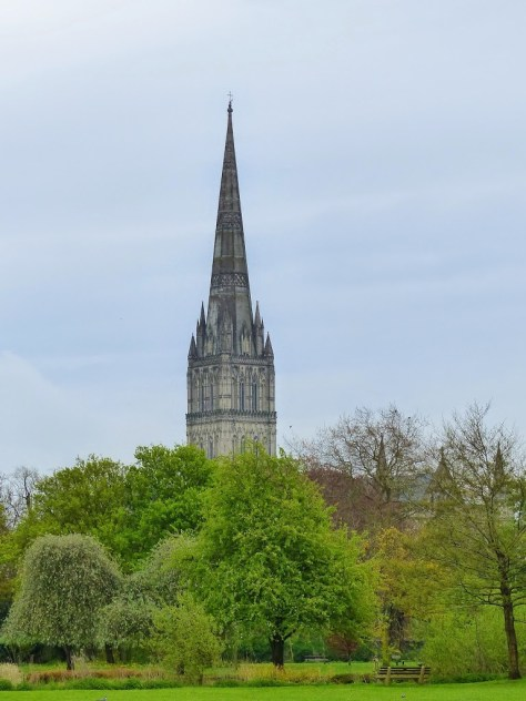 The Salisbury Cathedral Spire