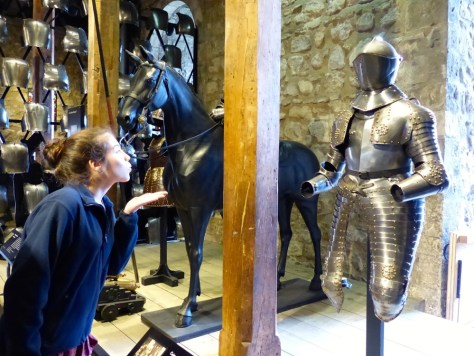 Chloe's Found Her Knight in Shining Armor