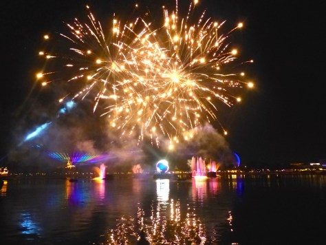 Disney Epcot Fireworks