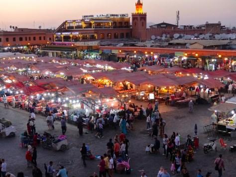 Marrakech - Jamaa al Fna 2