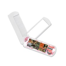 Folding Comb with Mirror - UPA