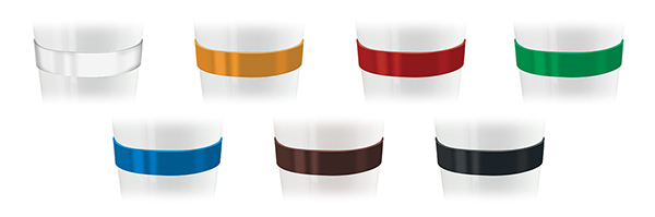 Mugs - Coffee 2 Go Mugs - Band Colours