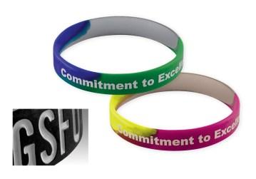 Silicone Wristbands - Custom