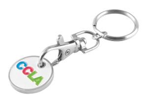 Trolley Coin - Soft Enamel Key Chain