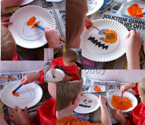 pumpkin craft @pinkoddy