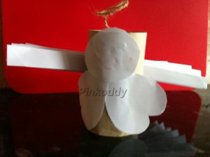 Toilet Roll Holder Craft Angel