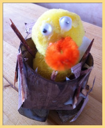 TRH Craft – Chicks in Nests