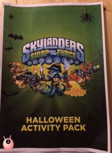 SkylandersSWAPForce FREE Downloadable Halloween Activity Pack