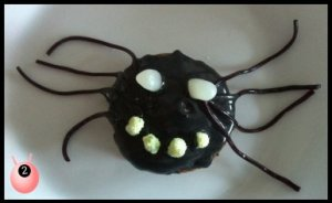 Spider cakes @pinkddy