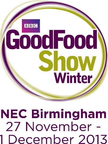 This winter (27th November-1st December 2013) saw Brian Turner, Frances Quinn, James Martin, Lisa Faulkner and Natalie Coleman opening the doors of the NEC for the 23rd year running of The BBC Good Food Show in Birmingham. The nation's biggest food event really had something for everyone, no matter their age, budget, or dietary requirements. Present were a selection of well-known brands, the opportunity to discover new local and regional produce of the finest quality, dining equipment, cooking accessories and appliances, demonstrations, live cooking (featuring over 50 chefs and experts), book signings, free samples, and Christmas decorations. M&S Christmas Theatre This beautifully set theatre was very festive and inviting. With a tasty sample as we waited for the live cooking to begin it also gave the opportunity to have a rest. There were tips on how to prepare for Christmas, how M&S can help, and of course a fantastic Christmas pudding alternative recipe. The Great British Bake Off Village Fans of the show The Great British Bake off were in for a treat with winners and contestants from the hit TV show baking their favourite dishes. This area was devoted to all things baking and also the opportunity for afternoon tea. We did not visit The Supertheatre, (which was sponsored by Tesco finest*) where tickets could be purchased on the door for a standard seat, so missed James Martin, The Hairy Bikers, Paul Hollywood & Mary Berry. The BBC Good Food Show Summer runs 12 – 15 June, NEC, Birmingham Advance ticket prices start at £24.25 and please check the website for more details bbcgoodfoodshowsummer.com The BBC Good Food Shows are organised and presented by River Street Events Ltd The GoodFood word mark and logo are trademarks of BBC Worldwide Limited. Copyright 2013 BBC Worldwide Limited With an array of well-known brands, kitchen appliances and gadgets, a spread of the finest local and regional produce to shop from, and the best in live cooking, book signings, and tasti