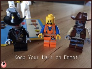 Lego Movie Emmet gets creative