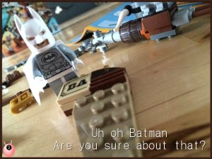 The Lego Movie following instructions
