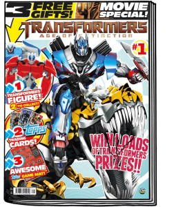 Transformers: Age of Extinction Comic