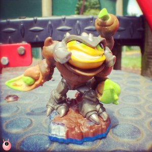 half term with skylanders swapforce