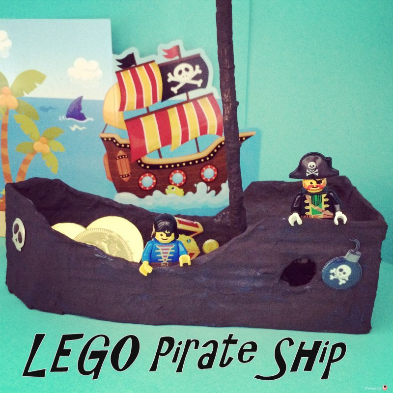 How to make a LEGO Pirate Ship