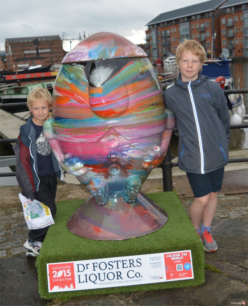 Gloucester Scrumpty Trail for Rugby World Cup