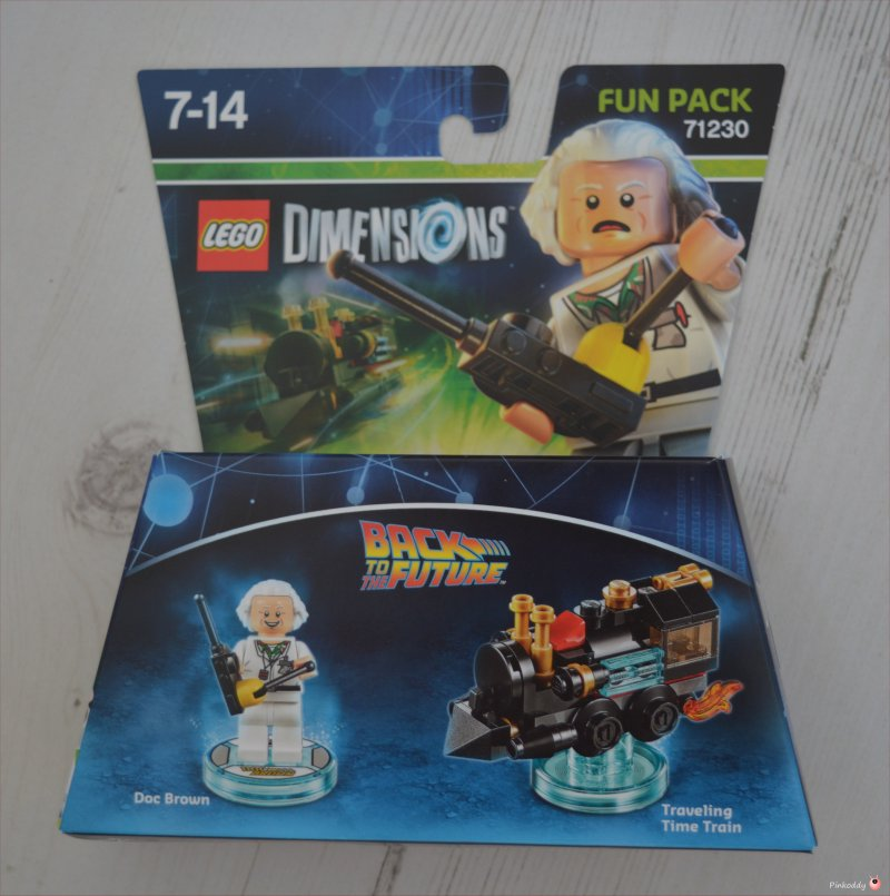 back to the future lego dimensions
