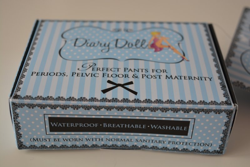 Diary Doll pants helping women with leaks be more cinfident