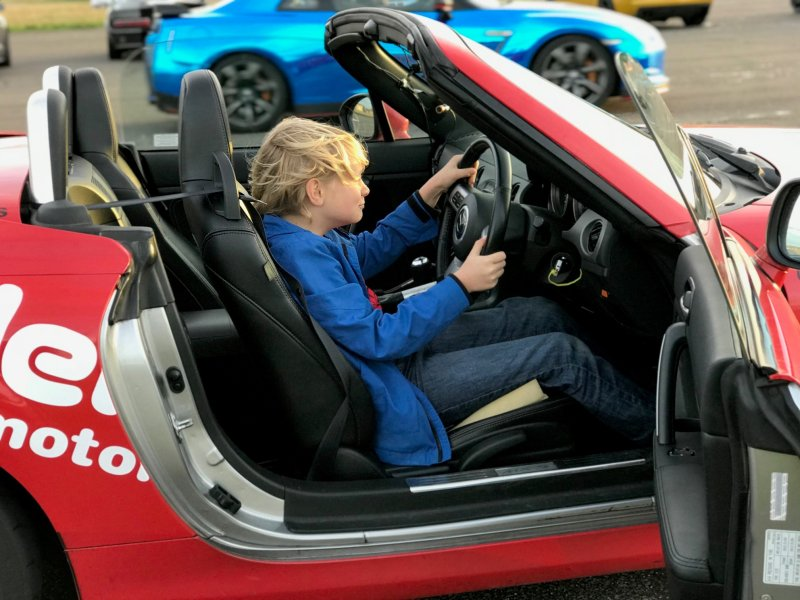 Junior Driving Experience in a MX5