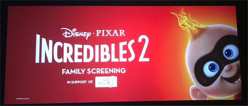 Incredibles 2 screen