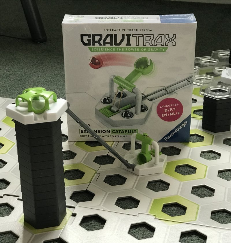 Gravitrax Add-Ons catapult
