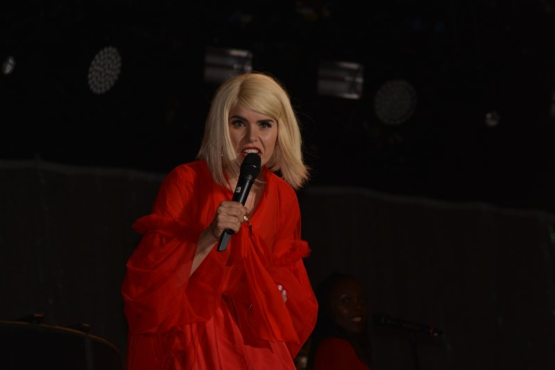 Paloma Faith disgusted face at the lack of kindness in the World