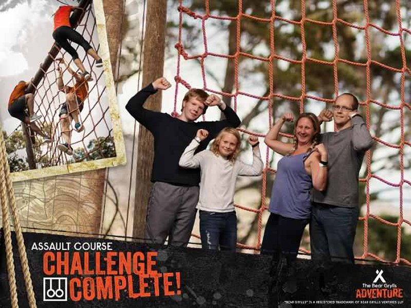 Bear Grylls Adventure Assault course