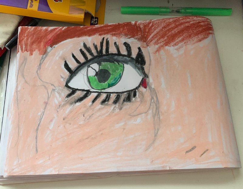 Artventure eye drawing