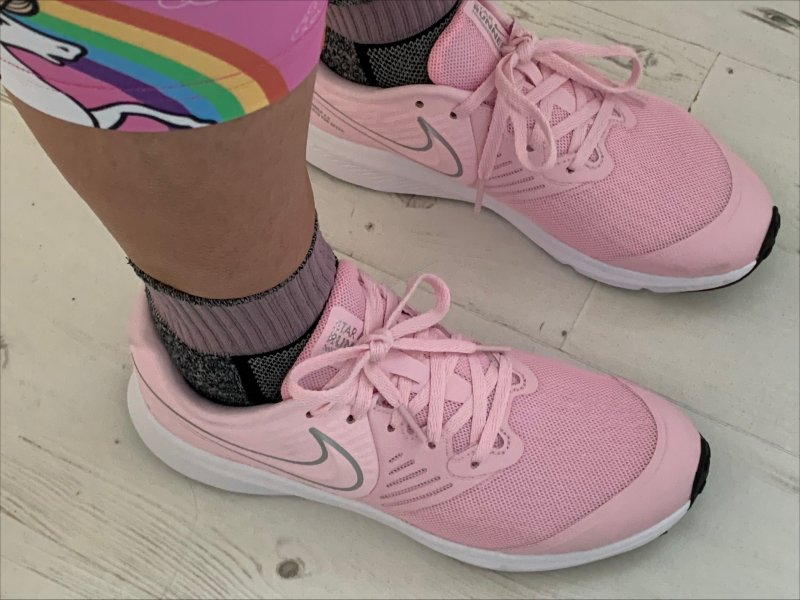 Nike Pink running shoes