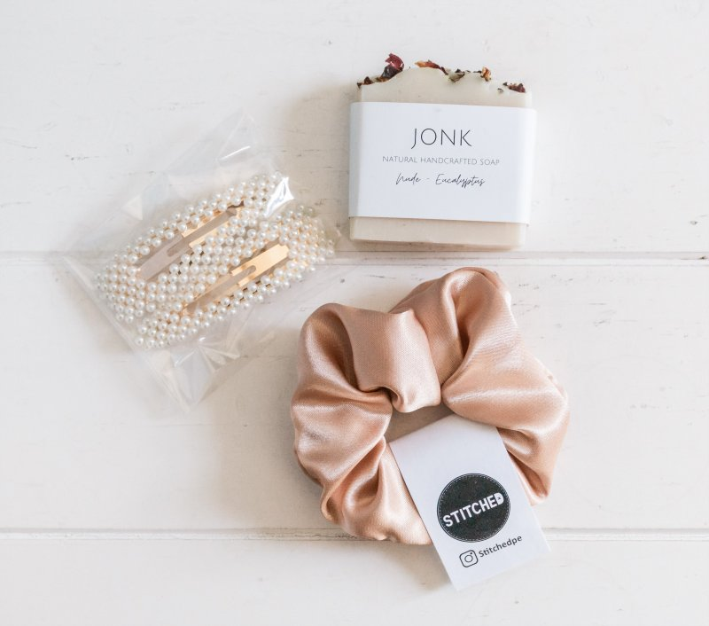 hair clips and scrunchies girls presents